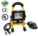 LED Trouble Light Rechargeable 5W House & Auto Adapter