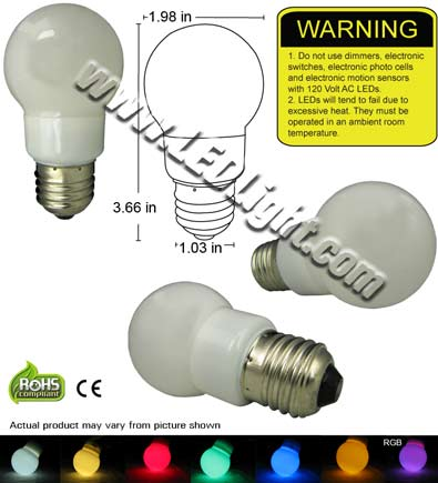 Standard Appliance LED Light Bulb