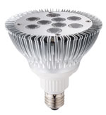 Par 38 - 9 One Watt High Power LEDs Dimmable 85-260VAC 30 Degree E27