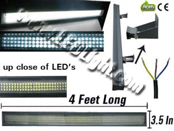 30 Watt Low Profile High Power Outdoor L.E.D. Spotlight NCNR