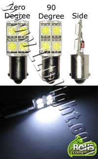 BA9S 4 Ultra Bright 5050 SMD LED