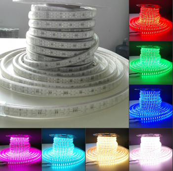 120V RGB Flexible LED strip Per Foot product 69857.