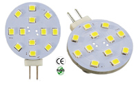 G4 JC GY6.35 LED Bulb 2 Watt Low Voltage GX4 BASE DC8-30VDC AC10-18V