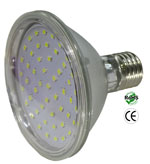 Par30 LED 7 Watt 120 VAC Clear Lens 120 Beam E27