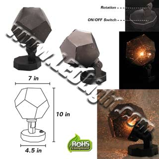 LED Star Field Light Bulb