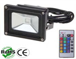 LED Floodlight RGB 10 Watt AC85-265V USA Plug