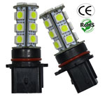 Fog, Running, Driving P13W 18 SMD L.E.D. 12-24VAC 360 Degree