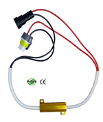 LED Load Equalizer Inline LED Headlight Fog H10 9005 9006