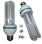 Bulb LED 12 Watt CFL Style 100 to 240 Volt AC