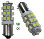 363 LED Bulb 25 3528 BA9S Base 12V DC T3