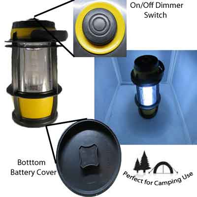 Image for 30 LED Camping/Emergency/Work Light Lantern Dimming