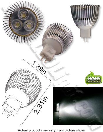 MR16 Ultra Bright Low Voltage 12V AC/DC