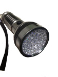 LED Flashlight 41 LEDs UV Waterproof