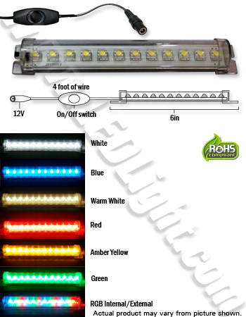 led tube light 6 inches 12 volt