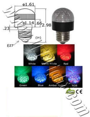Image for 1.3 Watt LED Light Bulb