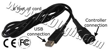 RGB Computer Interface cable for RGB controller