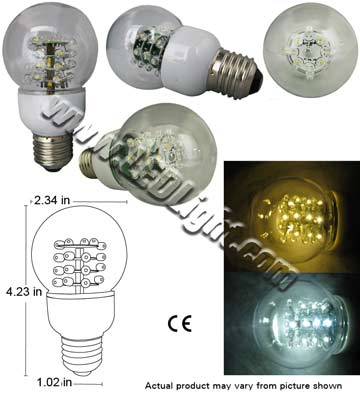 Standard Ultra Bright LED Light Bulb