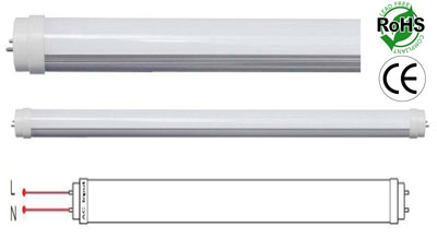 image of a t8 t12 led tube light 2 foot