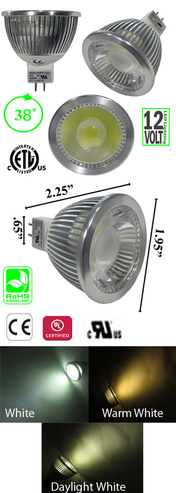 MR16 5 Watt LED product 46345