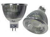 MR16 5 Watt LED 12V AC or DC GU5.3 Dim-able