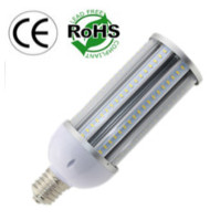 E39/E40 36 Watt LED Corn Bulb Clear Lens 85-305 Volt AC