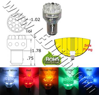 Image of a Automotive LED Light Bulb