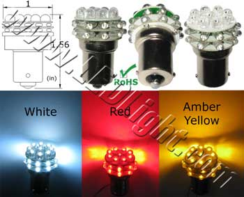 S25 27 Ultra Bright LED Light