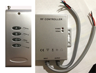 Water Resistant Controller 3 Channel Common Anode