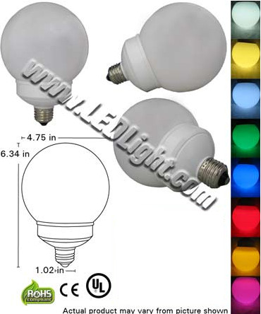 4 Watt LED Light Bulb E26/E27 120VAC