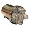 S25 5 LED Light Bulb 12 VDC