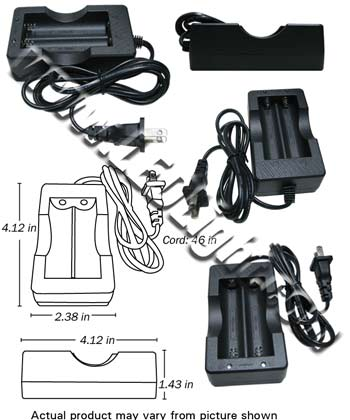 Image for 18650 Rechargable 2 Battery Charger