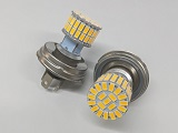 p45t 6V LED Headlight 60 SMD Dual Filament Bi Polar