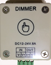 Dimmer Touch 12 Volt Low Voltage 96W 1 Channel 8A