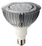 Par38 LED 14 Watt Dim-able 90-120 VAC 14W E26 25 Degree