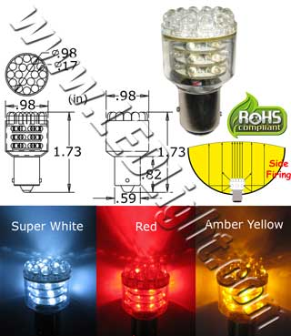 S25 39 LED Light