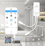 Dimmer Bluetooth Mesh Mini Controller 9-24V 1 Channel 6A 72W