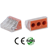 Wire Connector 3 Hole 3 Pack