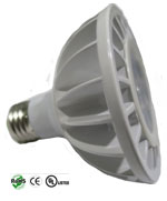 Par30 UV 9 Watt Dimmable 120VAC E27 30 Degree