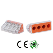 Wire Connector 4 Hole 2 Pack