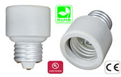 E26 male to E26 Female Ceramic Adapter Extender