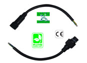 Harness Waterproof 5 Pin IP66 AWG20 Black 40cm