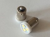 #51 Miniature Bulb BA9S Base 6 Volt 3 SMD 3030 LED T3 1/4
