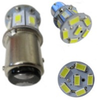 #1157 Miniature Bulb BAY15D Base LED 6 Volt 2.6 Watt G18
