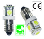 Doorbell Light 16 Volt AC E10 Base Miniature Bulb