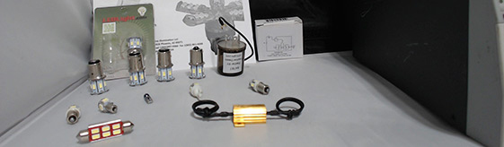 6 Volt positive ground led bulbs