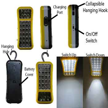 18+6 LED Emergency/Camping Light/Lantern