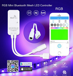 Bluetooth Mesh Mini 4 Pin LED Controller 3 Channel 2A 72W