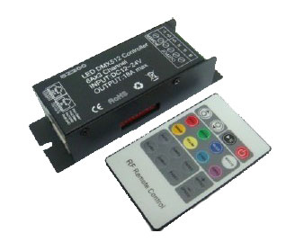 Controller DMX512 6 Amp 3 Channel Common Anode
