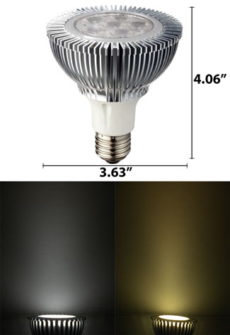 Image of Par 30 LED Light Bulb 10W