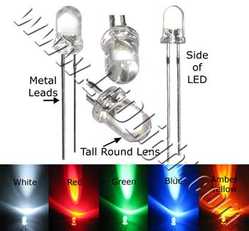 5mm Round LED Light 5/pk NCNRNW